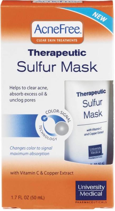 sulfur face mask