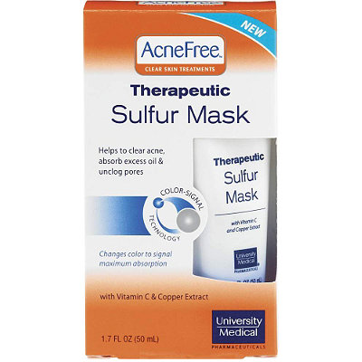 University Medical Acne Free Therapeutic Sulfur Mask