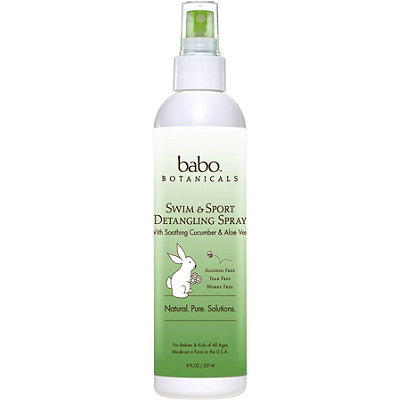 Babo Botanicals Online Only Swim & Sport Detangling Spray