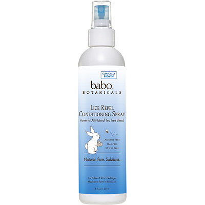 Babo Botanicals Online Only Lice Repel Conditioning Spray