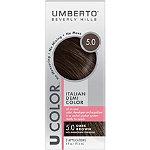 Umberto U Color Italian Demi Color Kit 5.0 Dark Brown