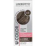 Umberto U Color Italian Demi Color Kit 6.0 Medium Brown