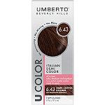 Umberto U Color Italian Demi Color Kit 6.43 Dark Copper Brown
