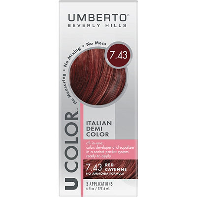 Umberto U Color Italian Demi Color Kit