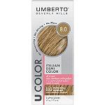 Umberto U Color Italian Demi Color Kit 8.0 Natural Blonde