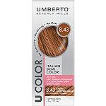 Umberto U Color Italian Demi Color Kit 8.43 Light Copper Gold