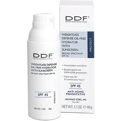 Ddf Online Only Weightless Defense Oil-Free Hydrator with Sunscreen Broad Spectrum SPF 45