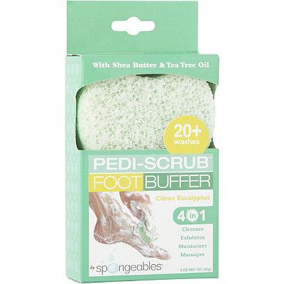 SpongeablesPedi-Scrub Foot Buffer 20+