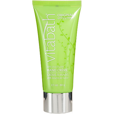 VitabathOriginal Spring Green Shea Butter Hand Cream Travel Size