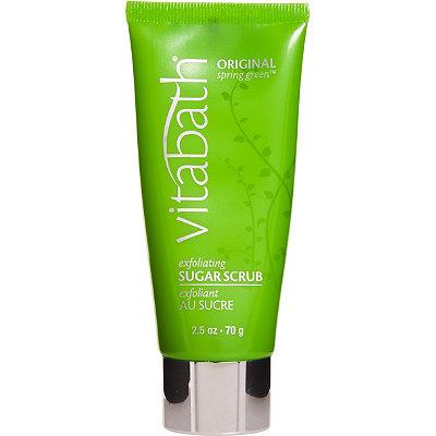 VitabathTravel Size Original Spring Green Exfoliating Sugar Scrub
