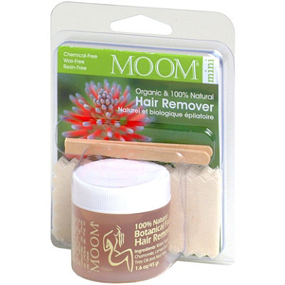 Moom Organic Hair Removal Face%2FTravel Kit