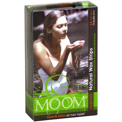 Moom Express Pre Waxed Strips for Face %26 Bikini