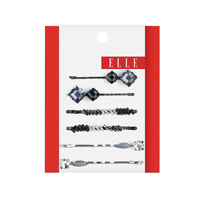 Elle Assorted Metallic Bobby Pins