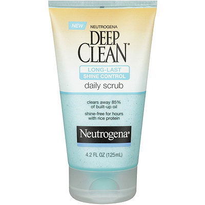 Neutrogena Deep Clean Long Lasting Shine Control Scrub