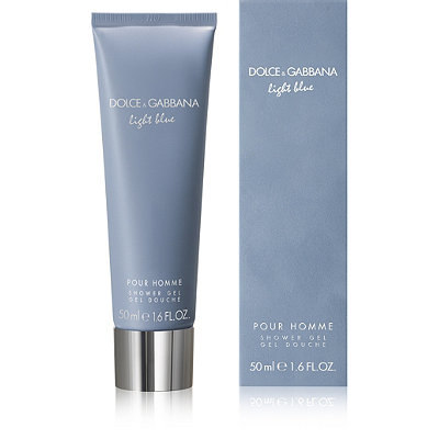 Dolce&GabbanaOnline Only FREE sample Light Blue Shower Gel w/any large Dolce&Gabbana Light Blue Men's Fragrance Collection purchase