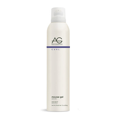 AG HairCurl Mousse Gel Extra-Firm Curl Retention