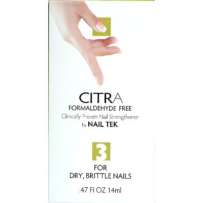 Nail Tek Citra III Formaldehyde Free for Hard%2C Brittle Nails