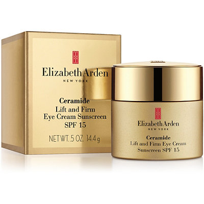 Online Only Ceramide Lift and Firm Eye Cream Sunscreen SPF 15