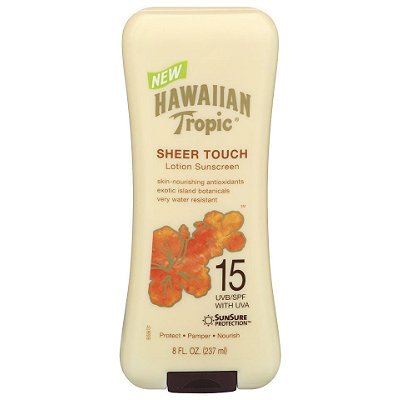 Hawaiian Tropic Sheer Touch Sunscreen Lotion SPF 30