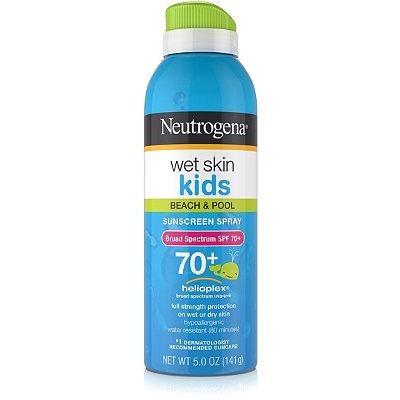 NeutrogenaWet Skin Kids Sunblock SPF 70