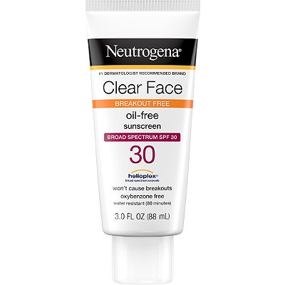 Clear Face Liquid-Lotion Sunblock
