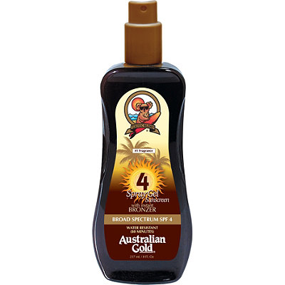 Australian GoldSpray Gel w/ Instant Bronzer
