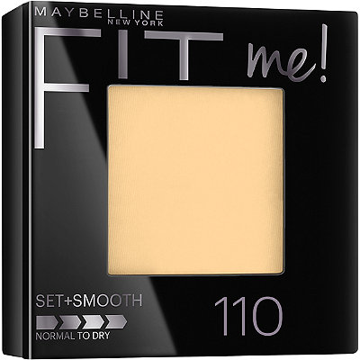 Maybelline Fit Me Set %2B Smooth Pressed Powder