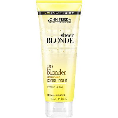 John FriedaSheer Blonde Go Blonder Lightening Conditioner