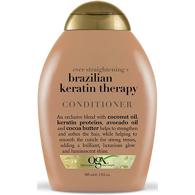 OGXEver Straight - Brazilian Keratin Therapy Conditioner