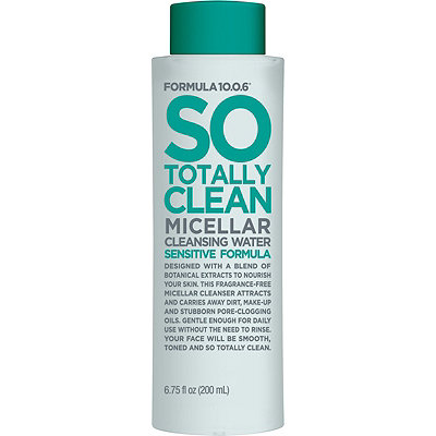 Formula 10.0.6 So Totally Clean Micellar Cleansing Water