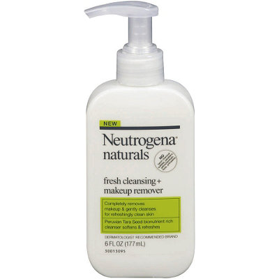 NeutrogenaNaturals Fresh Cleansing + Makeup Remover