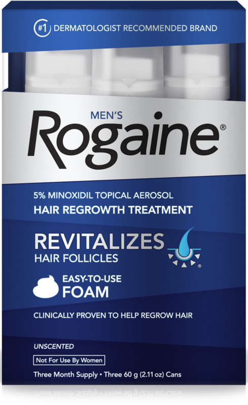 Rogaine Hair Regrowth Treatment Unscented Foam Shop Your Way