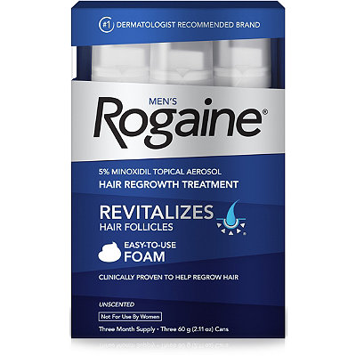 RogaineHair Regrowth Treatment Unscented Foam