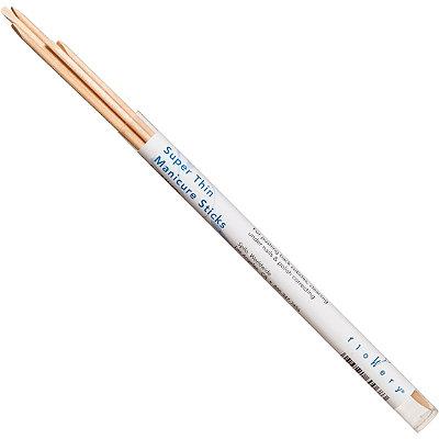 FlowerySuper Thin Manicure Sticks Vial
