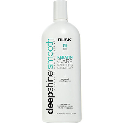 Rusk Deep Shine Smooth Keratin Care Smoothing Shampoo