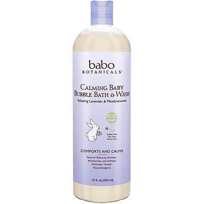 Babo Botanicals Online Only Calming Bubble Bath%2C Shampoo %26 Wash