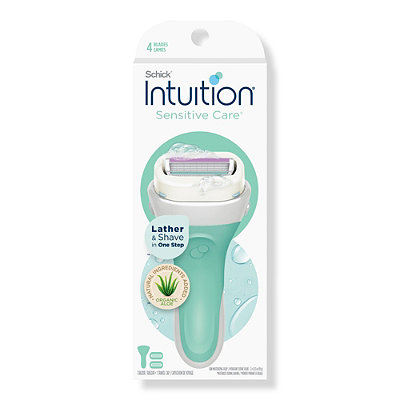SchickIntuition Naturals Sensation Razor