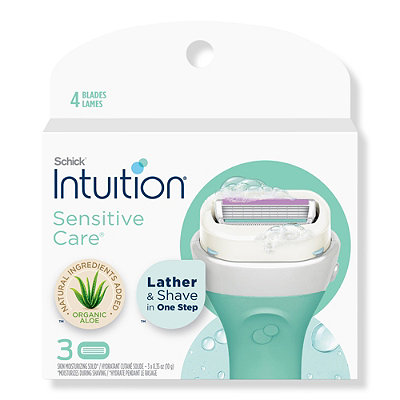 SchickIntuition Naturals Sensation Cartridge 3 Ct