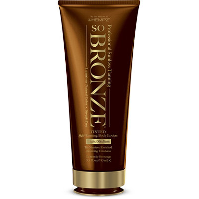 So Bronze Tinted Self-Tanning Body Lotion
