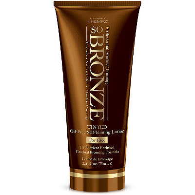 So Bronze Tinted Self-Tanning Lotion for Face