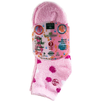 Earth Therapeutics Aloe Moisture Aloe Socks
