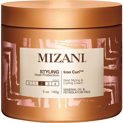 Mizani Iron Curl Heat Styling %26 Curling Cream