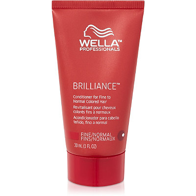 Wella Travel Size Brilliance Conditioner For Fine%2FNormal Hair