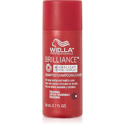 Wella Travel Size Brilliance Shampoo For Fine%2FNormal Hair