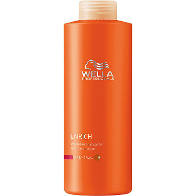 Wella Enrich Volumizing Shampoo For Fine%2FNormal Hair