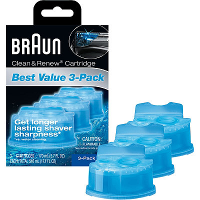 Braun Clean & Renew Cartridges
