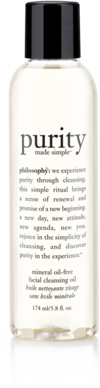 Purity Made Simple Mineral Oil-Free Facial Cleansing Oil by philosophy #8