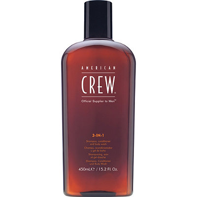3-In-1 Shampoo, Conditioner and Body Wash