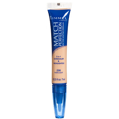 Rimmel London Match Perfection Skin Tone Adapting Concealer
