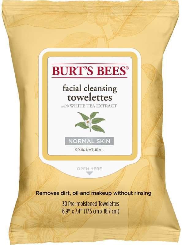 Facial Cleansing Towelettes - Peach & Willowbark Exfoliating by Burt's Bees #16